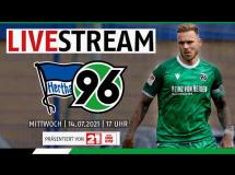 Hertha Berlin 4:4 Hannover 96