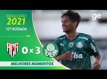 Atletico Goianiense 0:3 Palmeiras