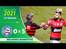 Bahia 0:5 Flamengo