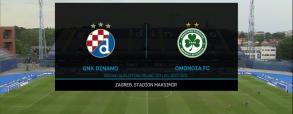 Dinamo Zagrzeb 2:0 Omonia Nikozja