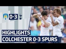 Colchester United 0:3 Tottenham Hotspur
