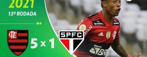 Flamengo 5:1 Sao Paulo