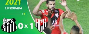 Santos 0:1 Atletico Goianiense