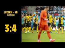FC Luzern 3:4 Young Boys