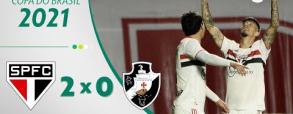 Sao Paulo 2:0 Vasco da Gama