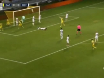 BATE Borysów 1:4 Dinamo Batumi