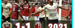 Nice 1:1 AC Milan