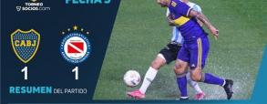 Boca Juniors 1:1 Argentinos Juniors