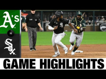 Chicago White Sox - Oakland Athletics