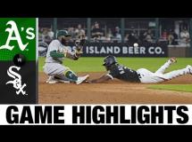 Chicago White Sox 4:5 Oakland Athletics