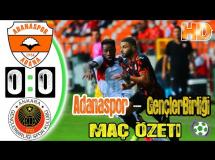 Adanaspor 0:0 Genclerbirligi