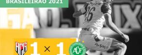 Atletico Goianiense 1:1 Chapecoense
