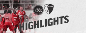 St. Gallen 1:1 FC Sion