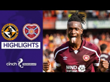 Dundee United 0:2 Hearts