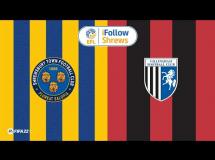 Shrewsbury Town 2:1 Gillingham FC