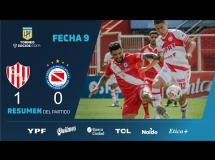Union Santa Fe 3:0 Argentinos Juniors