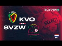 Oostende 0:2 SV Zulte-Waregem
