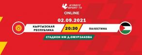 Kirgistan 1:0 Palestyna