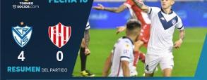 Velez Sarsfield 4:0 Unión Santa Fe