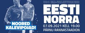 Estonia U21 3:0 Norwegia U21