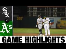 Oakland Athletics 3:6 Chicago White Sox