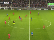 Rangers 0:2 Olympique Lyon