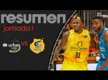 Baloncesto Fuenlabrada 87:92 Gran Canaria