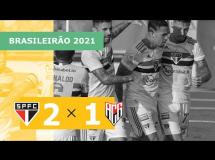 Sao Paulo 1:1 Atletico Goianiense