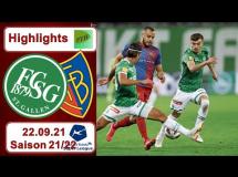 St. Gallen 0:2 FC Basel
