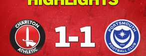 Charlton Athletic 2:2 Portsmouth FC