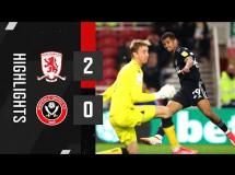 Middlesbrough 2:0 Sheffield United