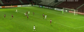 CFR Cluj 1:1 Randers
