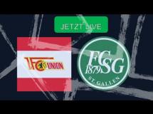 Union Berlin - St. Gallen