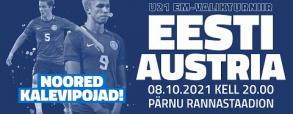 Estonia U21 - Austria U21