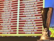 AEK Larnaka 1:1 Spartak Moskwa