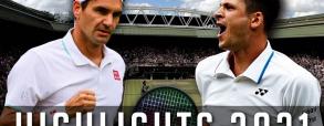 Hubert Hurkacz 3:0 Roger Federer