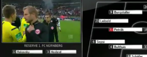 Eintracht Frankfurt 1:1 FC Nurnberg