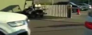 Andre Gomes wjechał w auto Luisa Suareza