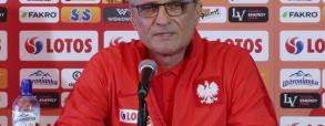 Konferencja przed towarzyskimi meczami rep. Polski