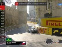 Kubica rozbił swój bolid!