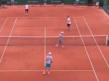 Niesamowite zagranie Kubota na French Open