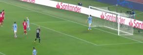 Gol Lewandowskiego z Lazio Rzym!