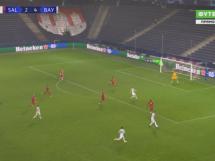 Robert Lewandowski z kolejnymi golami w Lidze Mistrzów! Niesamowite wykończenie