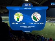 Górnik Łęczna 0:2 Legia Warszawa