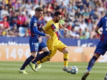 Levante UD 3:1 FC Barcelona
