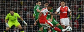 Ludogorets 2:3 Arsenal Londyn