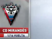 Malaga CF 0:1 Mirandes