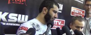 Wywiad z Mamedem Khalidovem po wygranej z Karaoglu