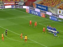 Piłkarze Wisły Płock nie wiedzieli co się dzieje! Gol z rzutu wolnego Jagielloni