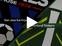 San Jose Earthquakes 3:0 Portland Timbers